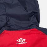 Мужская куртка ветровка Umbro Pro Training Potenza Red/Navy фото- 8