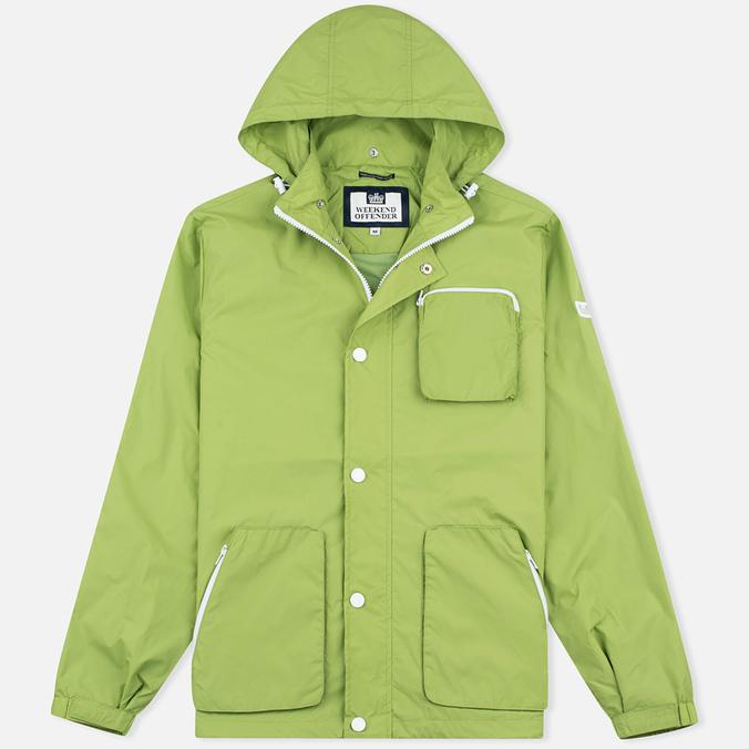 Мужская куртка ветровка Weekend Offender Chebe Pear
