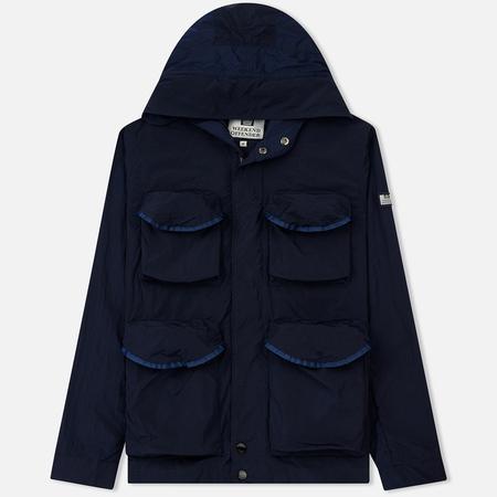 Мужская куртка ветровка Weekend Offender Heller Navy