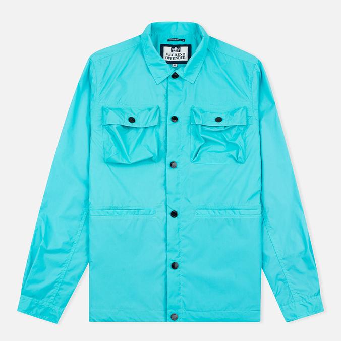 Мужская куртка ветровка Weekend Offender Sedgwick Aqua