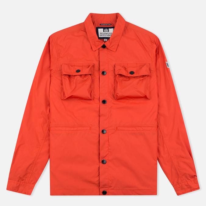 Weekend Offender Sedgwick Men's Windbreaker Burnt Orange