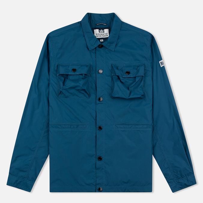 Мужская куртка ветровка Weekend Offender Sedgwick Kingfisher