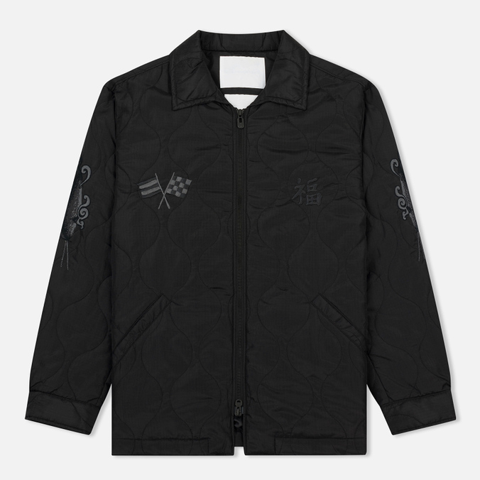 Мужская куртка White Mountaineering Quited Souvenir Black