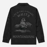 Мужская куртка White Mountaineering Quited Souvenir Black фото- 6