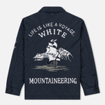 Мужская куртка White Mountaineering Quited Souvenir Navy фото- 7