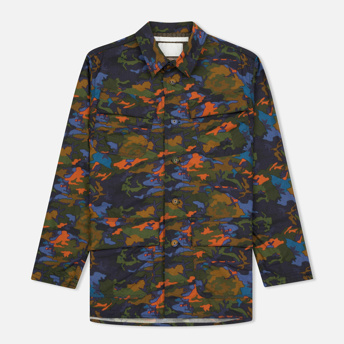 Мужская куртка White Mountaineering Spectrum Camouflage Printed Khaki