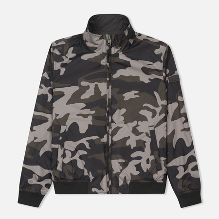 Мужская куртка Woolrich Reversible Camouflage Black Camouflage