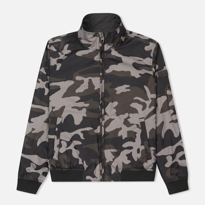 Мужская куртка Woolrich Reversible Camouflage Black Camouflage
