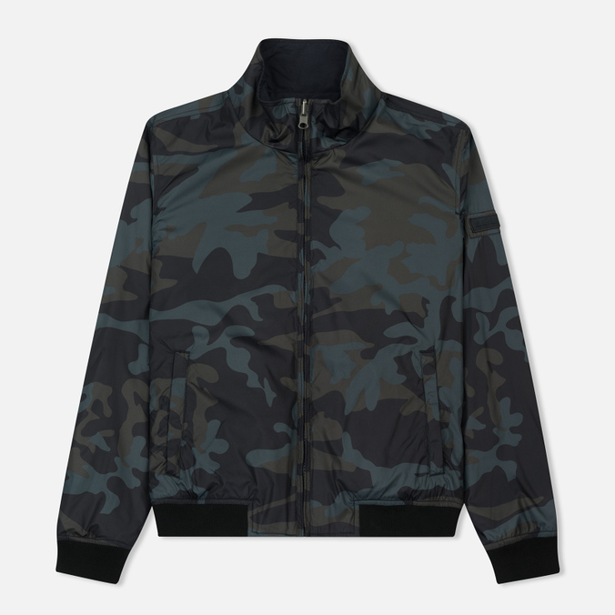 Мужская куртка Woolrich Reversible Camouflage Navy Camouflage