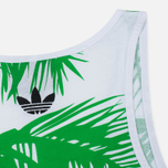 Мужская майка adidas Consortium x Pharrell Williams BBC Palm Tree Track White/Green фото- 3