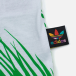 Мужская майка adidas Consortium x Pharrell Williams BBC Palm Tree Track White/Green фото- 4