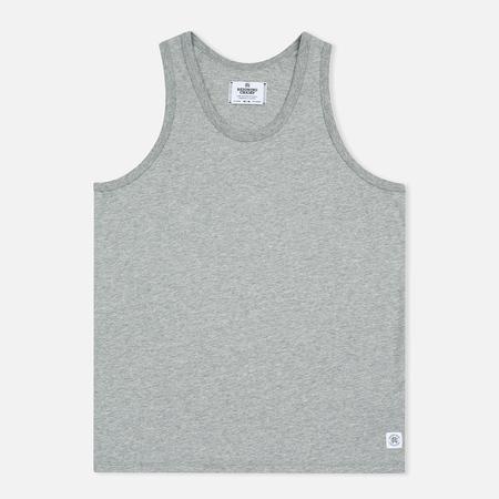 Reigning Champ Ringspun Tank Top Men's T-shirt Heather Grey