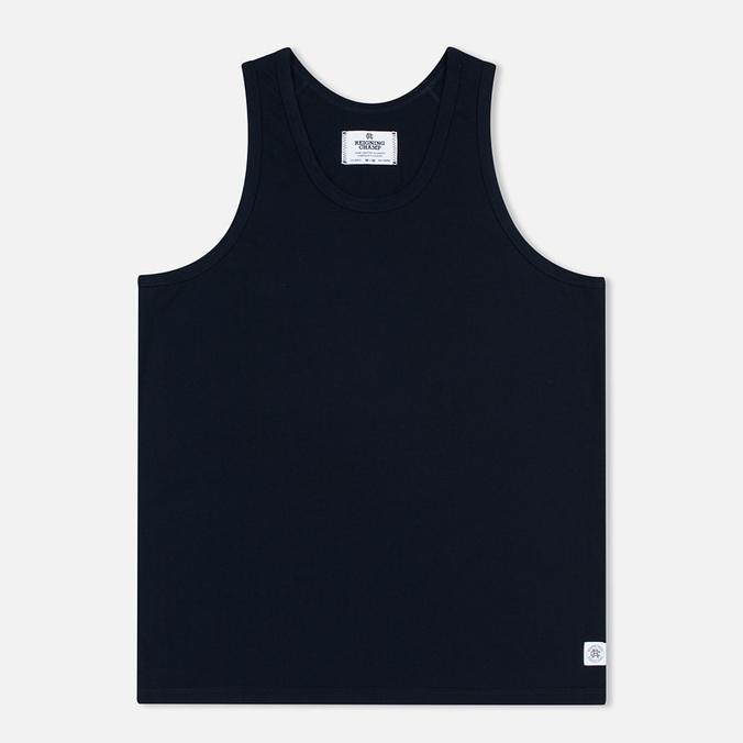 Reigning Champ Ringspun Tank Top Men's T-shirt Navy