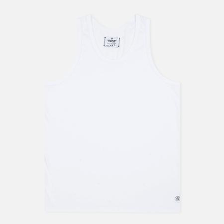 Reigning Champ Ringspun Tank Top Men's T-shirt White