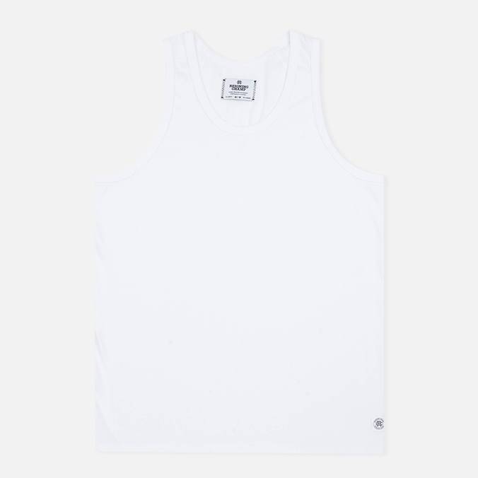 Мужская майка Reigning Champ Ringspun Tank Top White