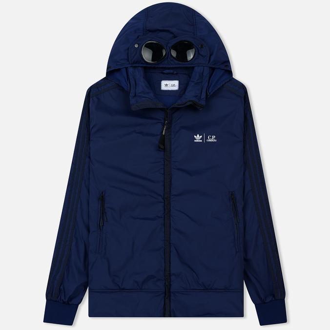 Мужская куртка ветровка adidas Originals x C.P. Company Track Night Indigo