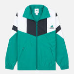 adidas Originals Equipment Boston Men's Track Jacket Green/White/Black photo- 0