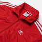 Мужская олимпийка adidas Originals Firebird Scarlet/White фото - 1