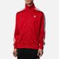 Мужская олимпийка adidas Originals Firebird Scarlet/White фото - 2