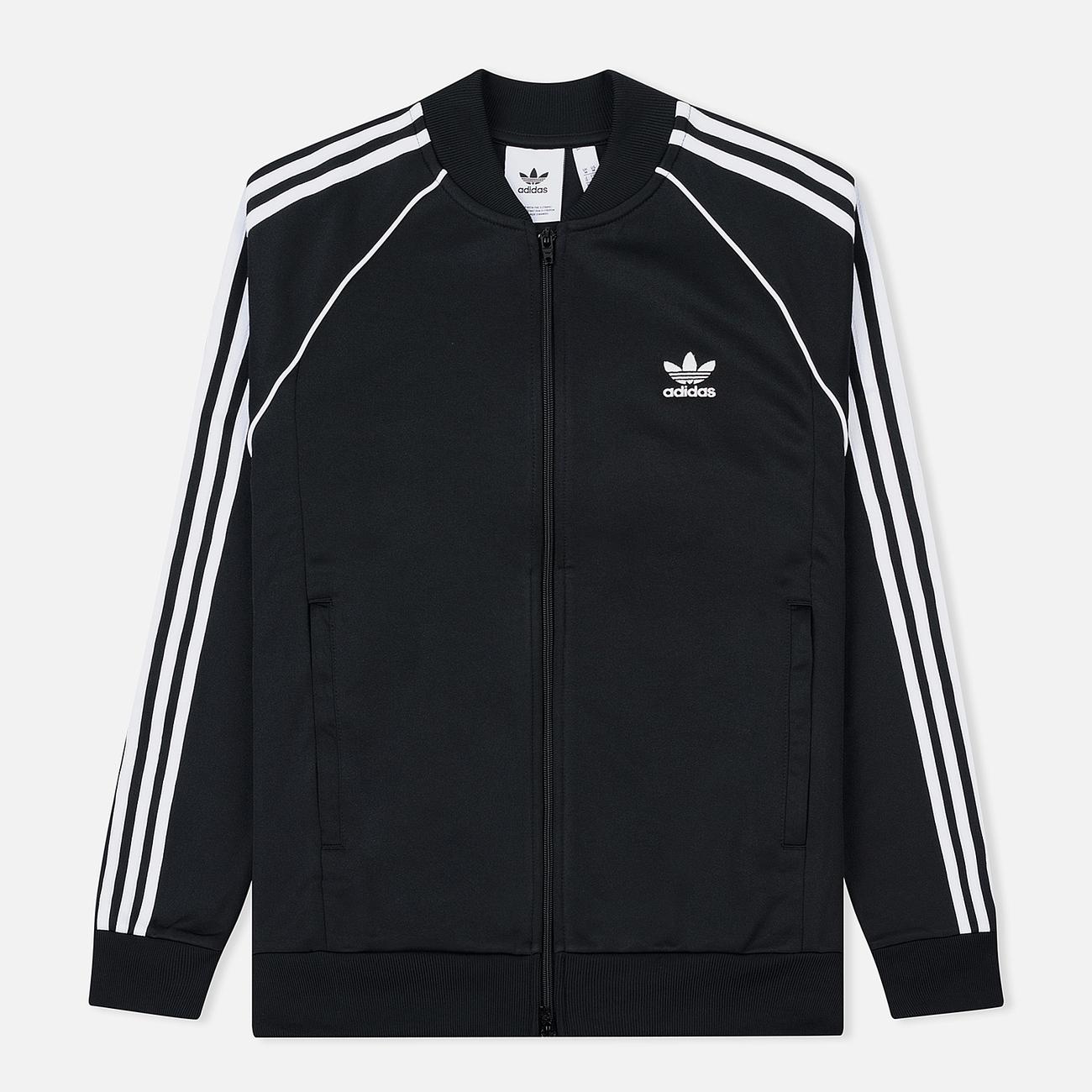 Мужская олимпийка adidas Originals SST 3-Stripes Black