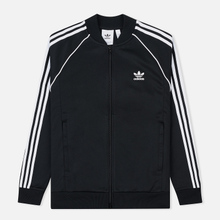 Мужская олимпийка adidas Originals SST 3-Stripes Black фото- 0