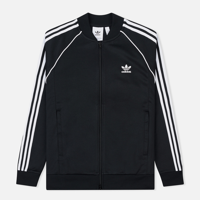 Мужская олимпийка adidas Originals SST 3-Stripes Black