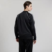 Мужская олимпийка adidas Originals SST 3-Stripes Black фото- 2