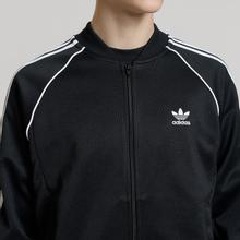 Мужская олимпийка adidas Originals SST 3-Stripes Black фото- 3