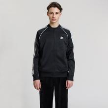 Мужская олимпийка adidas Originals SST 3-Stripes Black фото- 1