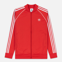 Мужская олимпийка adidas Originals SST Lush Red фото- 0