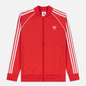 Мужская олимпийка adidas Originals SST Lush Red фото - 0