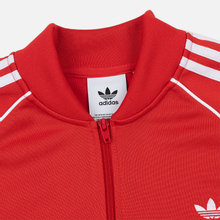 Мужская олимпийка adidas Originals SST Lush Red фото- 1