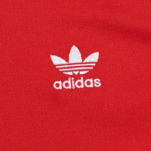 Мужская олимпийка adidas Originals SST Lush Red фото- 2