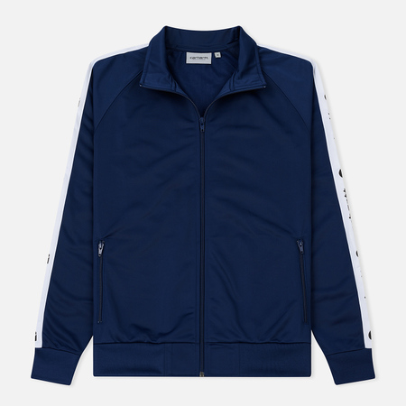 Мужская олимпийка Carhartt WIP Goodwin 6.5 Oz Metro Blue/White