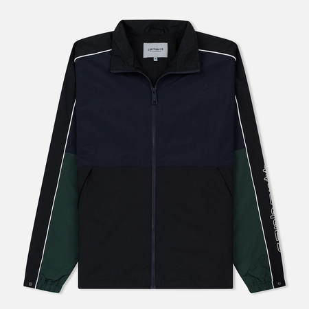 Мужская олимпийка Carhartt WIP Terrace Dark Navy/Black/Bottle Green