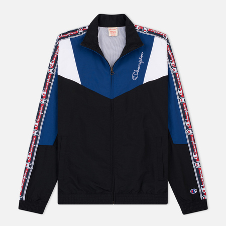 Мужская олимпийка Champion Reverse Weave Full Zip Top Black/Navy