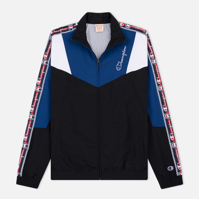 Мужская олимпийка Champion Reverse Weave Full Zip Top Black/Navy