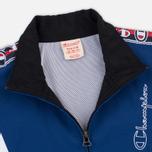 Мужская олимпийка Champion Reverse Weave Full Zip Top Black/Navy фото- 2