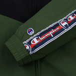 Мужская олимпийка Champion Reverse Weave Full Zip Top Military Green фото- 5