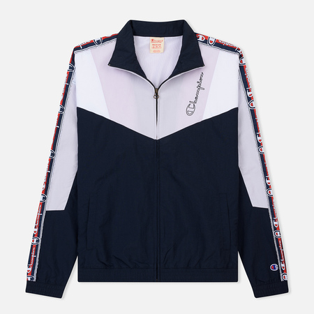 Мужская олимпийка Champion Reverse Weave Full Zip Top Navy/White