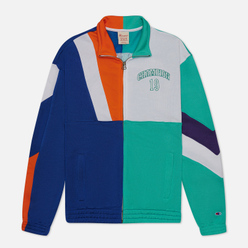 Мужская олимпийка Champion Reverse Weave Nbmix Full Zip Top Mint/Blue/White