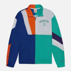 Мужская олимпийка Champion Reverse Weave Nbmix Full Zip Top Mint/Blue/White