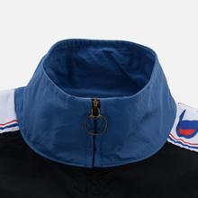 Мужская олимпийка Champion Reverse Weave Peached Feel Crinckle Water Repellent Full Zip Blue/Black/White фото- 3
