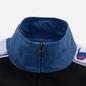 Мужская олимпийка Champion Reverse Weave Peached Feel Crinckle Water Repellent Full Zip Blue/Black/White фото - 3