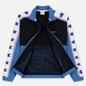 Мужская олимпийка Champion Reverse Weave Peached Feel Crinckle Water Repellent Full Zip Blue/Black/White фото - 2