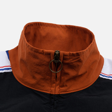 Мужская олимпийка Champion Reverse Weave Peached Feel Crinckle Water Repellent Full Zip Brown/Black/White фото- 3