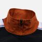 Мужская олимпийка Champion Reverse Weave Peached Feel Crinckle Water Repellent Full Zip Brown/Black/White фото - 3