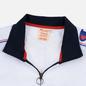 Мужская олимпийка Champion Reverse Weave Peached Feel Crinckle Water Repellent Full Zip Navy/White/Red фото - 1