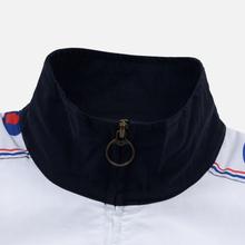 Мужская олимпийка Champion Reverse Weave Peached Feel Crinckle Water Repellent Full Zip Navy/White/Red фото- 3