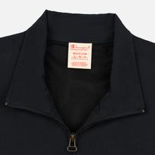 Мужская олимпийка Champion Reverse Weave Water Repellent Half Zip Top Black Beauty фото- 1